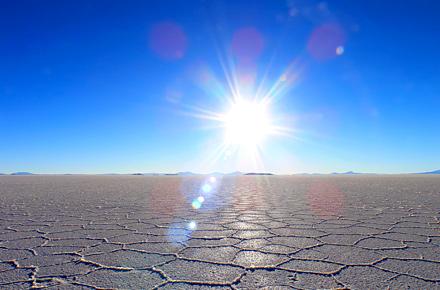 Salt plains, Bolivia