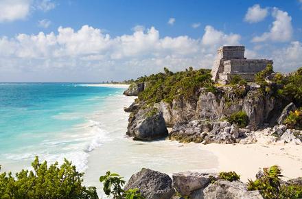 Messico, in aereo e via mare