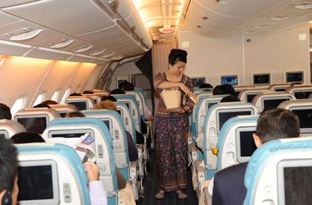 Il personale di Singapore Airlines