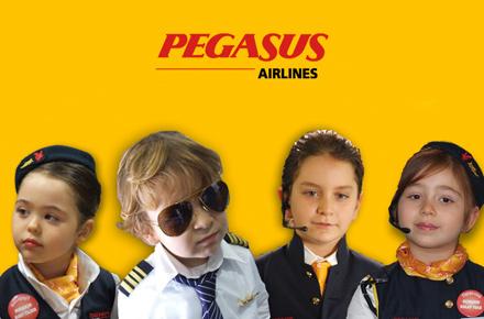 Su Pegasus, i bambini informano