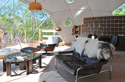 Opt for camping, or even better: glamping