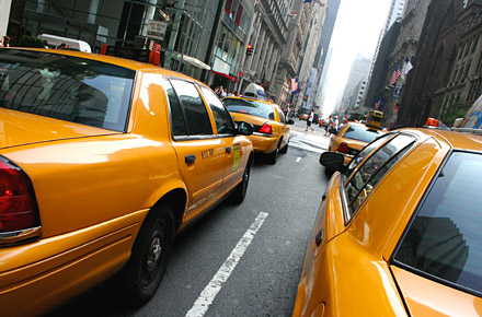 The unscrupulous taxi driver