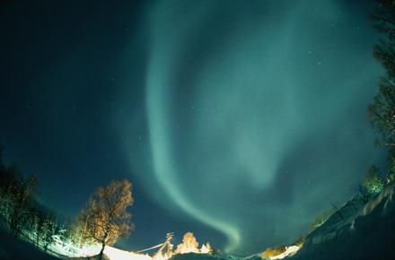 Poetry in the Norwegian skies