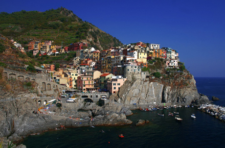 Cinque Terre, the culinary heart of Italy!