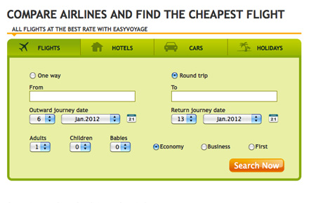 Find the best flight/holiday package