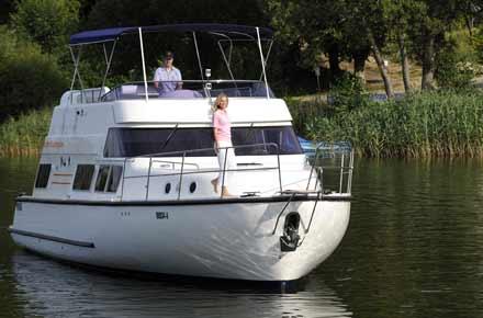 Deutschlandreise auf dem Hausboot