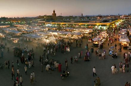 Marrakech Night Market, Marrakech, Marokko
