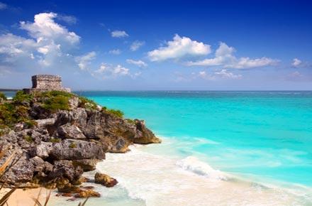 Tulum au mexique top 10 des plus belles plages du monde for Plus belles places du monde
