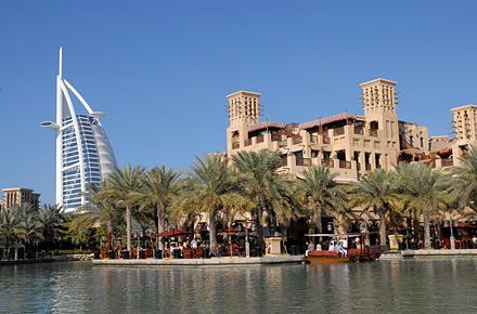 Al Madinat en Dubái: a lo grande