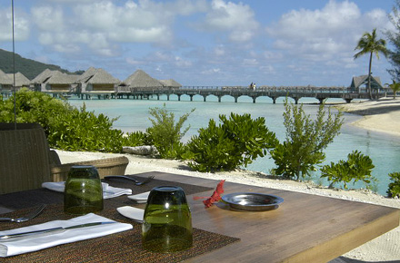 Intercontinental bora bora: un spa de diez