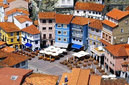 Cudillero in Asturia