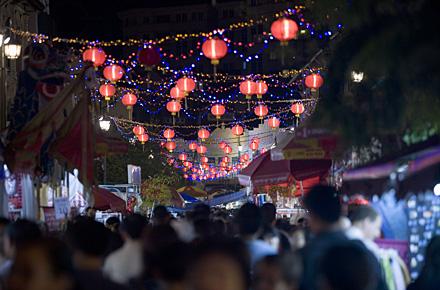 Singapur - Weihnachten unter Buddhisten