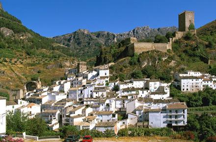 sitio web blanco paseo cerca de Jaén
