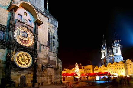 Quando il Natale arriva a Praga
