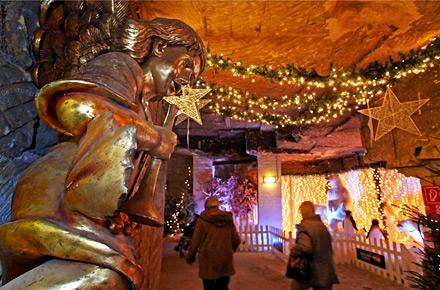 Olanda, il Natale arriva nelle grotte