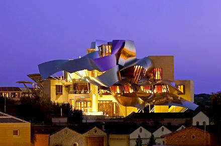 Hotel Marquès de Riscal - Spanische Landluft trifft auf innovatives Design