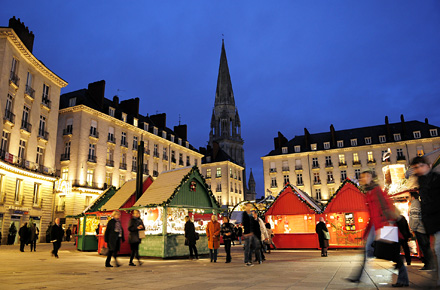 Nantes le march de no l diff rent les 10 plus beaux march s de no l de france - Plus beau marche de noel ...