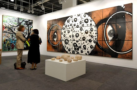 October: Frieze Art Fair, London