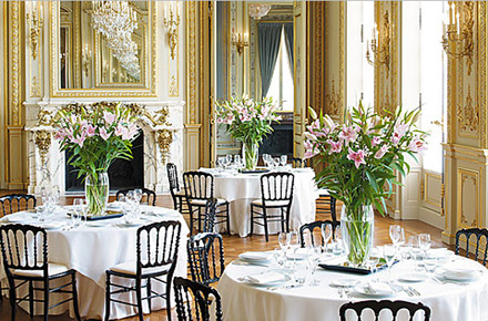 French Empire romance in Paris