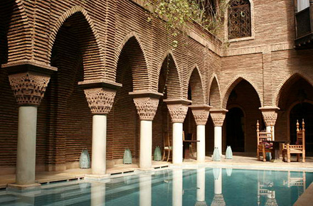 Lay back in Marrakesh's top riad