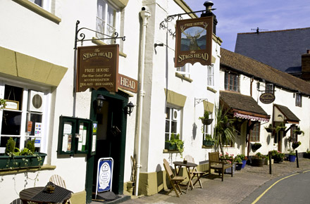 Dunster: un borgo nel cuore del parco di Exmoor