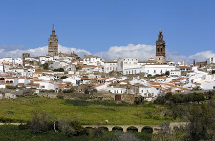 Columbus landmark in Extremadura