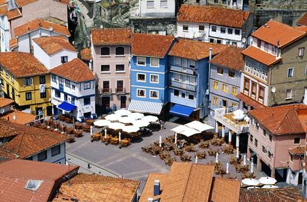 Fishing heritage in Cudilleiro, Asturias