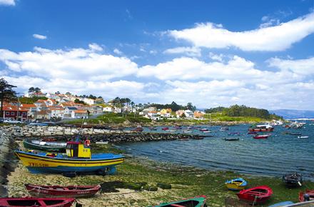 Pilgrim's route, O Cerebreiro in Galicia