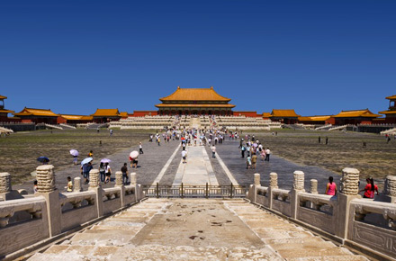 Am Tag der Arbeit nach Peking